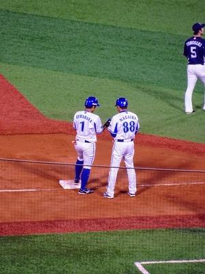 見事3塁打