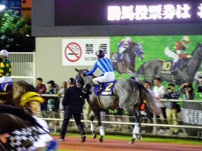 ララプリムヴェールと和田騎手