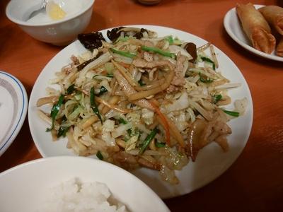 五目野菜炒めランチ