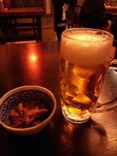 ビールと煮込み