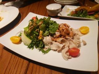 7種野菜と茹で豚しゃぶの中華風サラダ470円