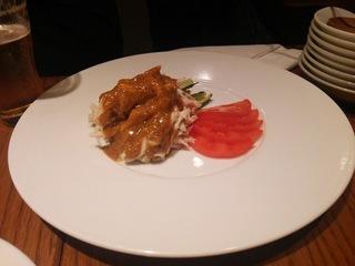 白胡麻ソースの特製棒々鶏570円