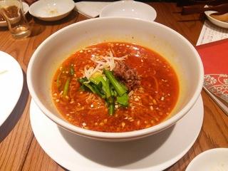 四川式担々麺960円