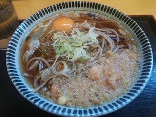 朝得そば(320円)