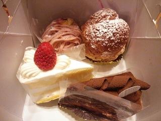 葦のケーキ