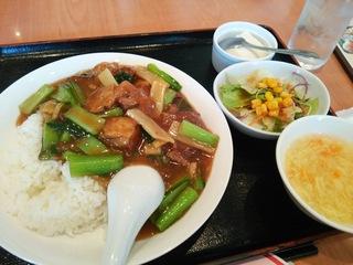 豚バラ餡掛けご飯(890円)