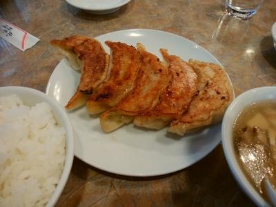 焼き餃子ランチ