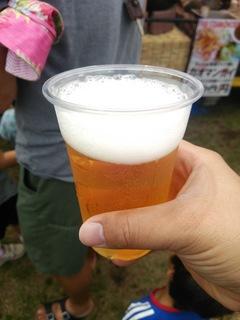 シンハービール(450円)