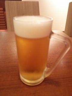 生ビール小