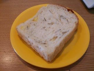 ローズマリーとチーズのパン
