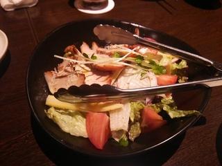 スモークチキンのサラダ