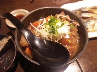 牛スジの土手煮込み(702円)
