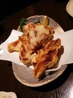 大山地鶏の唐揚げ(702円)