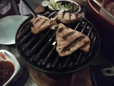 漁業団特製のごちそう まぐろ焼肉