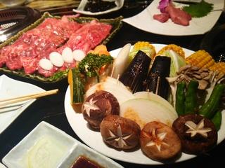 お肉とお野菜