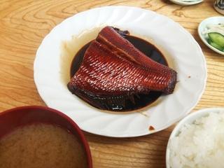 煮魚定食(1,100円)