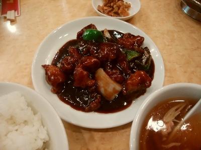 黒酢古老肉