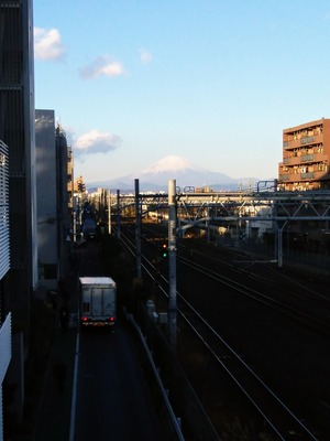 富士山20171211