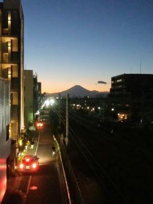 富士山171226