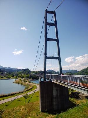 水の郷大つり橋2
