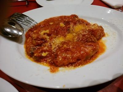 自家製サルシッチャのトマト煮込み