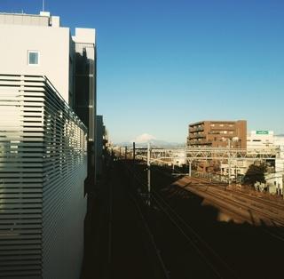今日も綺麗な富士山