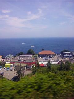 東海道線の車窓から